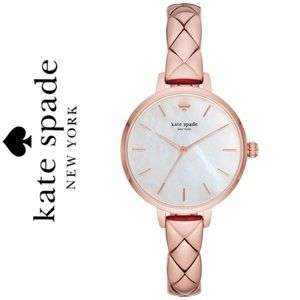 NWT Kate Spade Metro Mother of Pearl Dial Watch